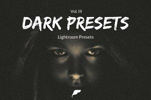 35+ Dark Lightroom Presets Vol. II