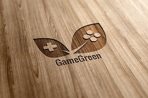 Game Green Logo Design
