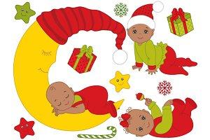 African American Christmas Babies