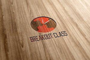 Breakout Class Logo Design