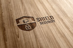 Shield Security Logo Design