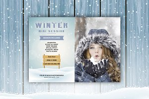 Winter Mini Session Template-V417