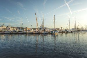 Yachts in Saint-Tropez