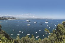 Yachts on the french riviera.