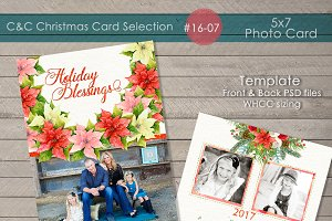 Christmas Photo Card Selection#16-07