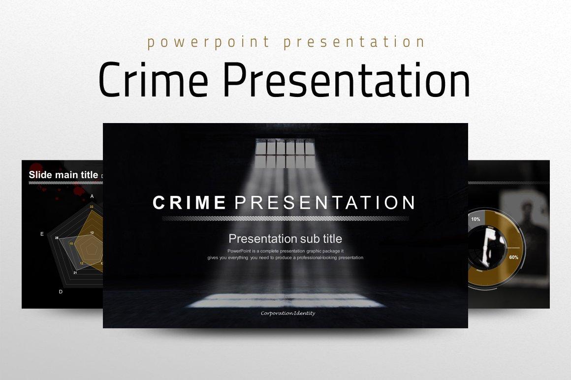 Crime Presentation Other Presentation Software Templates