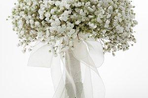 Gypsophila flowers bridal bouquet