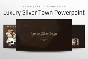 Luxury Silver Town Powerpoint