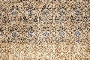 Arab ornaments and decoration