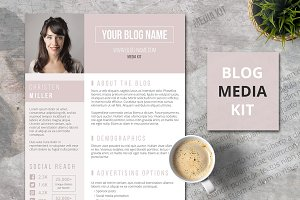 1 Page Blog Media Kit – The Big Shot