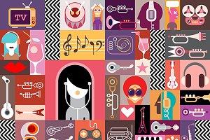 Art Collage / Art Composition