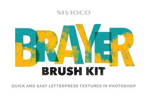 Brayer Brush Kit