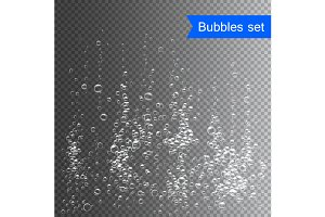 Bubbles under water