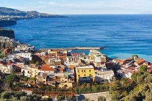 Amalfi Coast, Sorrento, Italy.