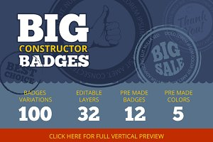 Big Constructor of Badges