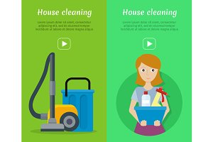 Set of Cleaning Service