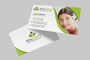 Beauty Spa Center Business Card