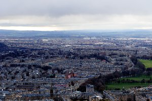 Edinburgh, views of the city