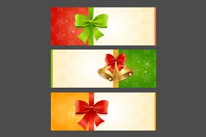 Present Card Template. Vector