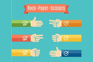 Rock Paper Scissor Hand Game