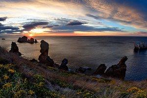 Sunset Arnia Beach