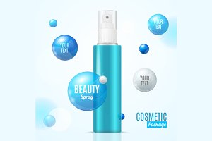 Beauty Spray Can Package Essence