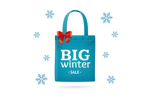 Winter Big Sale Fabric Bag