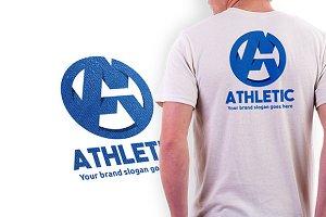 Athletic Letter A Logo