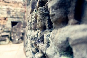 Wall Carvings at Angkor