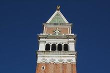 St Mark campanile in Venice