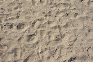 Sand on the beach