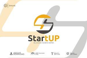 Start Up - Letter S Logo