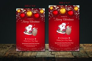 Christmas Flyer Template-V418