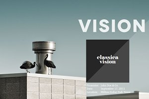 Classica Vision PowerPoint Template