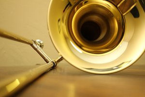 Trombone Closeup 2