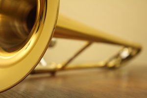 Trombone Closeup 3