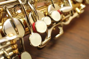Saxophone Closeup