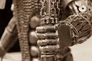 Hand chain steel