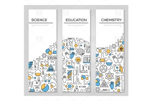 Science banners