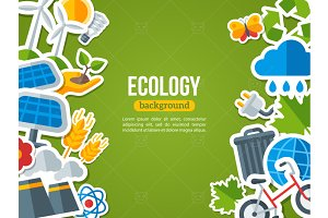 Ecology stickers - frame