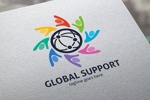 Global Support Logo