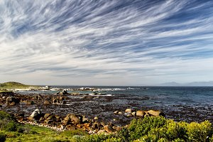 Coastal Landscape in South Africa