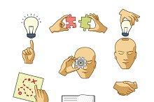 Business icons & symbols
