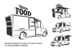 Food truck in different parties