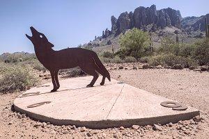 Coyote  sundial