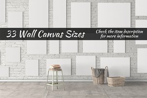 Canvas Mockups Vol 19