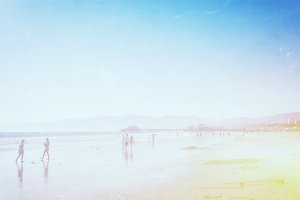 Santa Monica Beach Wallpaper