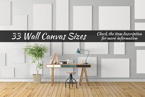 Canvas Mockups Vol 20