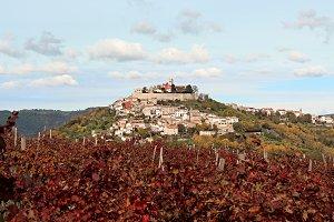 Picturesque view of Motovun, Croatia