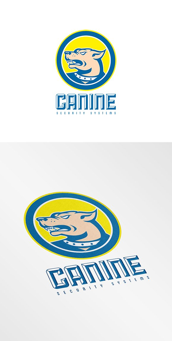 Canine Security Systems Logo in Logo Templates